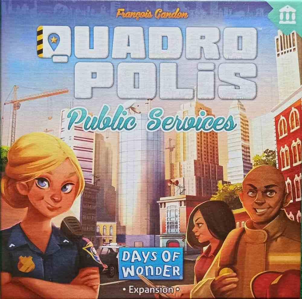 Recensione - Quadropolis: espansione Servizio Pubblico - Asmodee Giochi da Tavolo Recensioni Tutte le Reviews