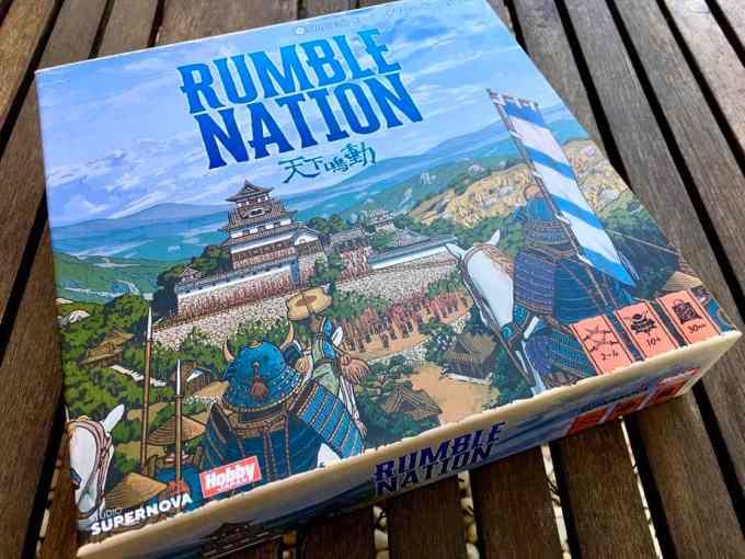 Rumble Nation - Recensione - Studio Supernova Giochi da Tavolo Recensioni Tutte le Reviews