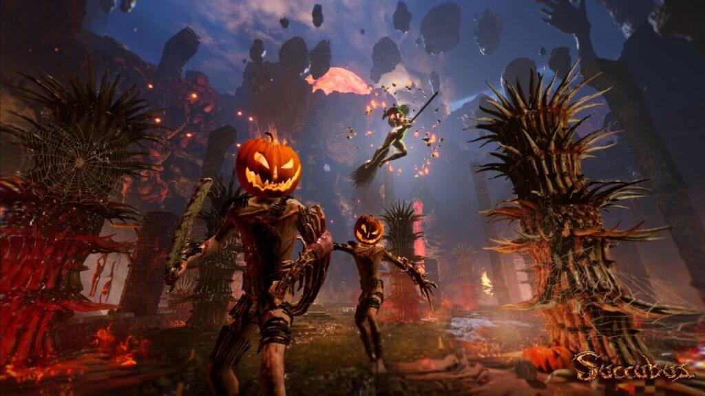 Una sanguinosa carneficina ad Halloween con Succubus Prologue! Comunicati Stampa PC Videogames