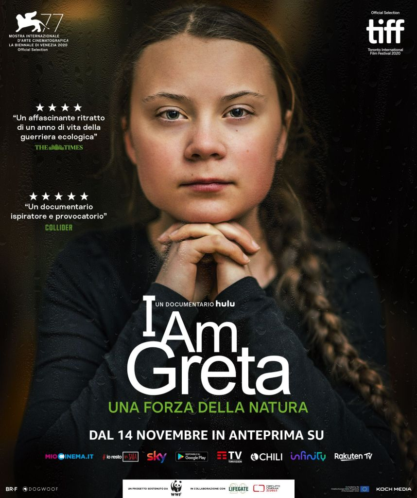 Koch Media e LifeGate annunciano una partnership per supportare il lancio di I AM GRETA Cinema Cinema & TV Comunicati Stampa