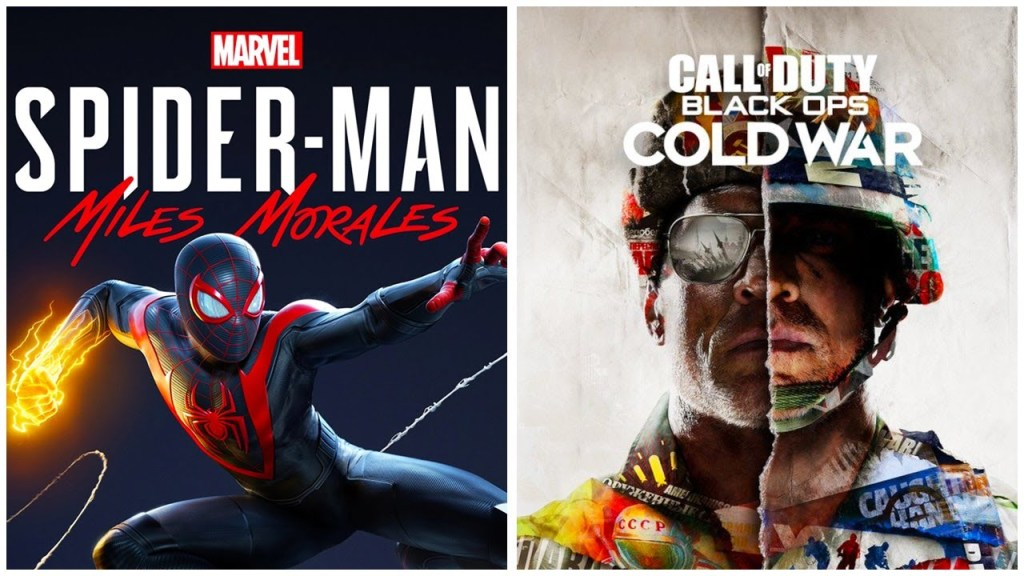 Spider-Man: Miles Morales e Call of Duty volano News PS4 PS5 SWITCH Videogames XBOX ONE XBOX SERIES S XBOX SERIES X