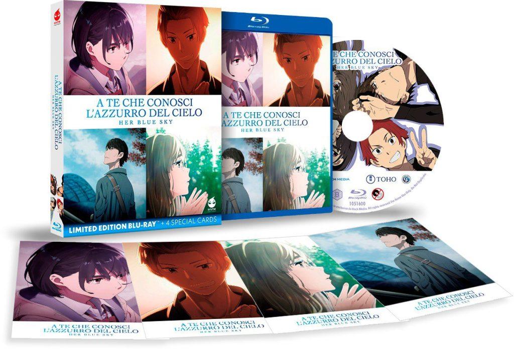 A Te Che Conosci l'Azzurro del Cielo - DVD e Blu-Ray in arrivo! Anime Cinema & TV Comunicati Stampa