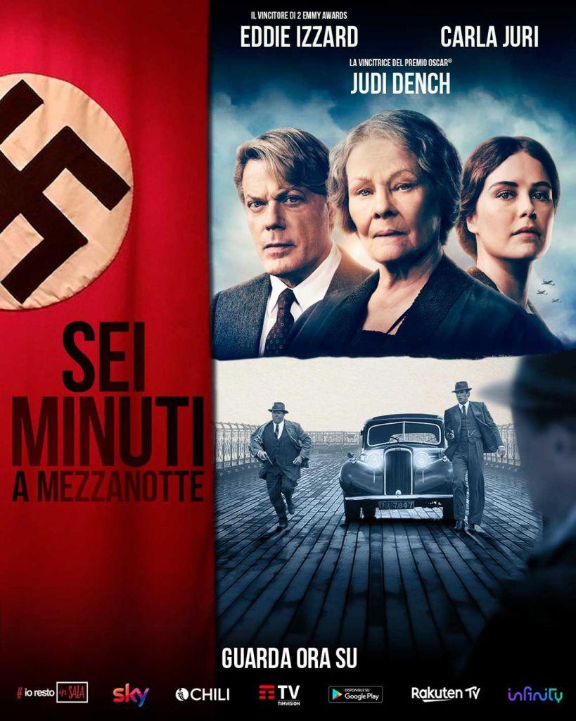 Sei Minuti a Mezzanotte - Ora disponibile on demand! Cinema Cinema & TV Comunicati Stampa