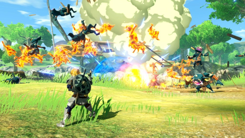 Hyrule Warriors: l'era della calamità - Disponibile da oggi! SWITCH