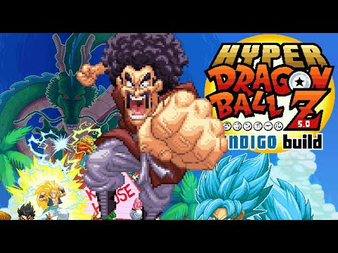 Hyper Dragon Ball Z Indigo - Il miglior Mugen di DBZ è disponibile al downoload GRATIS! Giochi News Retrogames Videogames
