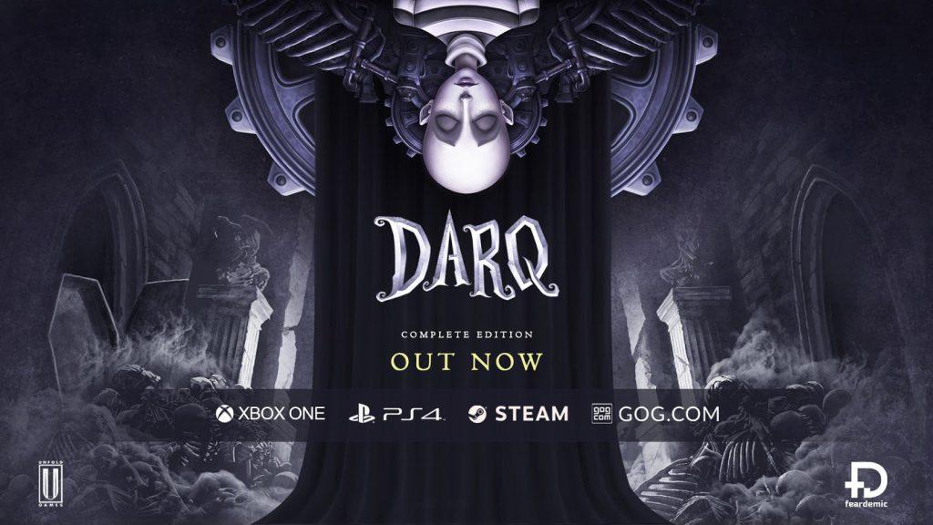 DARQ: Complete Edition è ora disponibile su Xbox One, PlayStation 4, e PC Comunicati Stampa Giochi PC PS4 SWITCH Videogames XBOX ONE