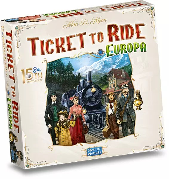 Ticket to Ride Europa 15th Anniversary