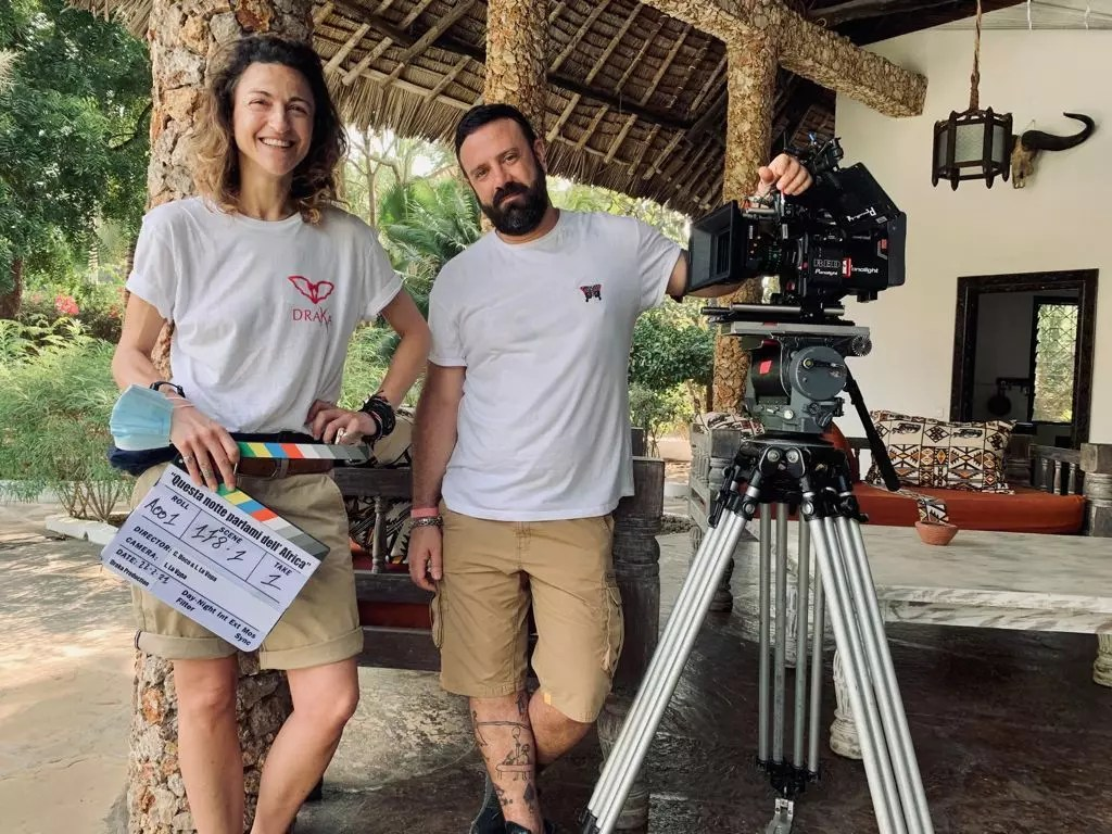 Iniziate oggi in Kenya le riprese di Questa notte parlami dell'Africa Cinema Cinema & TV Comunicati Stampa