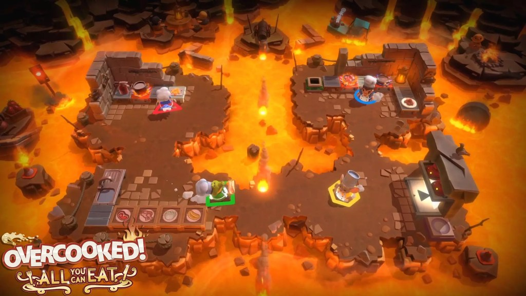 Overcooked - All you can eat in arrivo per Nintendo Switch, PlayStation 4 Pc e Xbox Comunicati Stampa Videogames