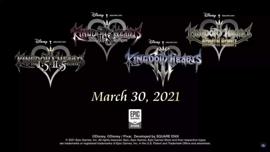 La serie KINGDOM HEARTS arriverà su Epic Games Store Comunicati Stampa Giochi PC Videogames