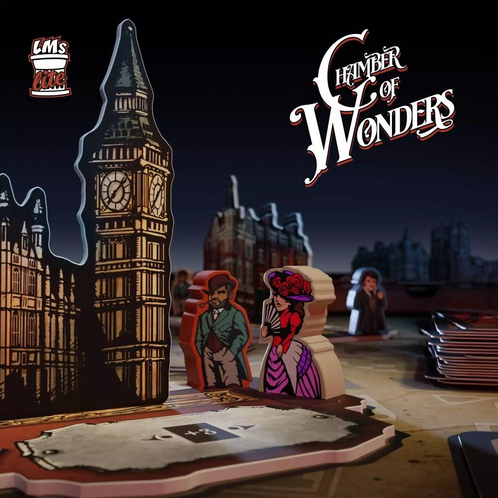 Chamber of Wonders da oggi su Kickstarter! Giochi Giochi da Tavolo News Speciali