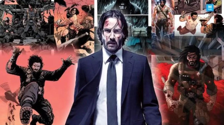 Keanu Reeves, John Wick e BRZRKR