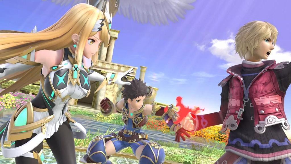 Super Smash Bros. Ultimate - Pyra/Mythra si uniscono alla mischia domani! Comunicati Stampa SWITCH Videogames