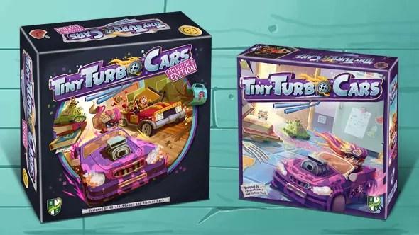 Tiny Turbo Cars: poco più di 24 ore su Kickstarter! Comunicati Stampa Giochi da Tavolo