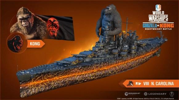 Kong vs Godzilla North Carolina