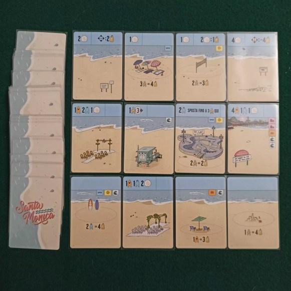 Le carte spiaggia