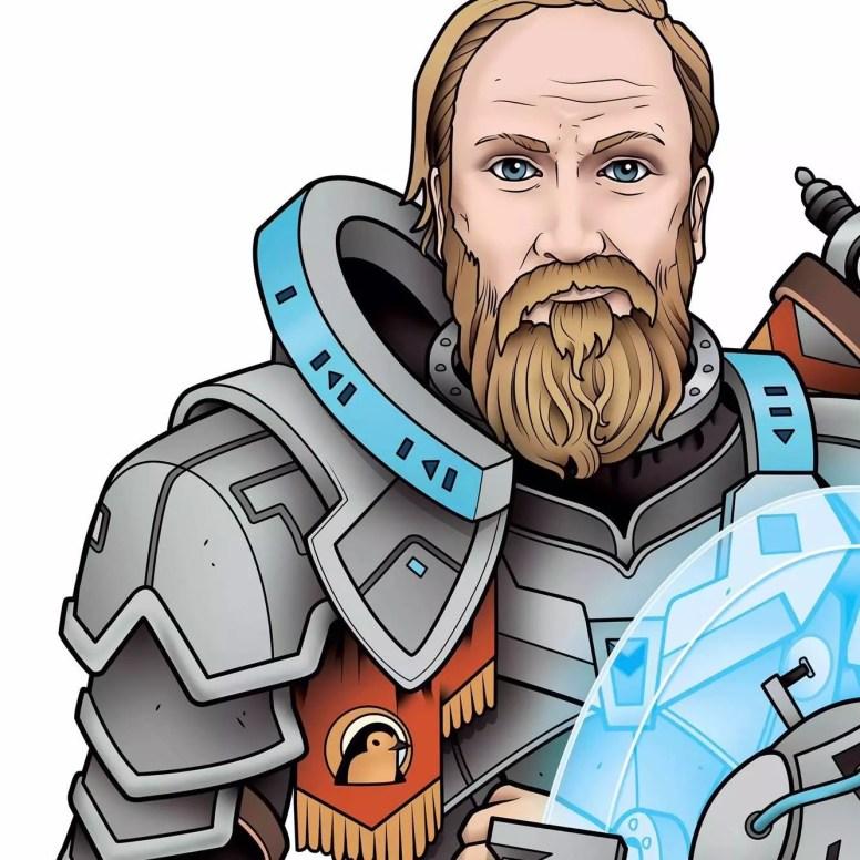 """Intervista esclusiva a Shem Phillips, il padre della saga """"del Regno Occidentale"""" e fondatore della Garphill Games Giochi da Tavolo Interviste"""