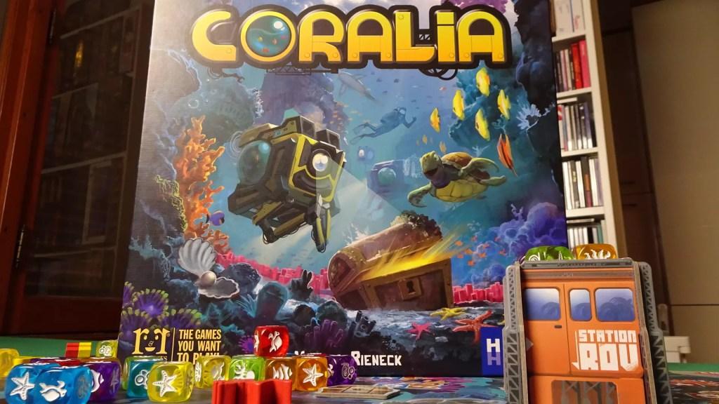 CORALIA - Alla scoperta della barriera corallina - HUCH! Anteprime Giochi Giochi da Tavolo Recensioni Tutorial Tutte le Reviews