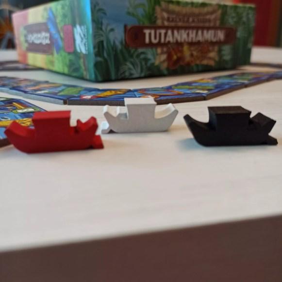 Le barche dei giocatori