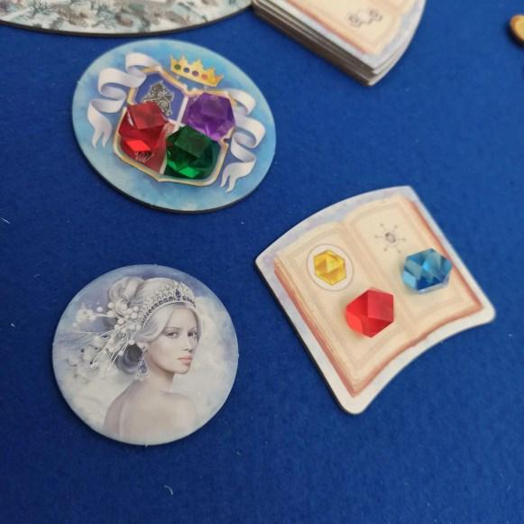 Winter Queen elementi di gioco