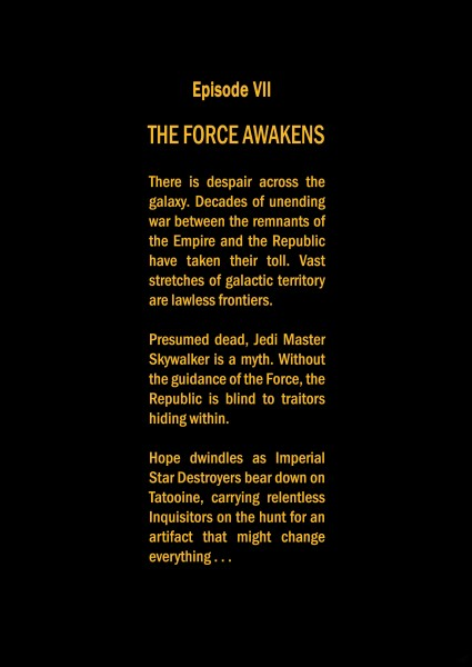 star wars opening crawl - photo #29