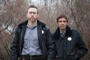 Kevin Durand and Lukas Haas in Dark Was the Night. Photo by Ryan Samul