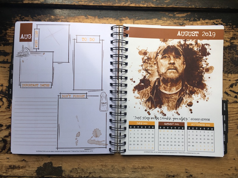 image about John Winchester Journal Pages Printable named Con*Quest Magazines Launches Fresh \u201cSupernatural\u201d Weekly