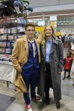 Ryan and Audrey as the 10th Doctor and Captain Jack Harkness, @ryanpotts98 on Twitter.
