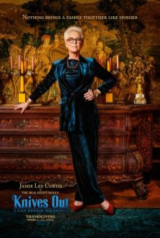 Jamie Lee Curtis as Linda Drysdale. Image courtesy of 'Knives Out'