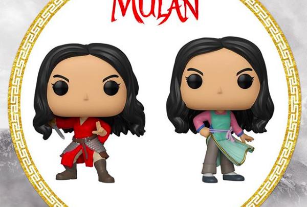 New Mulan Live Action Pop Figures Released For Pre Order