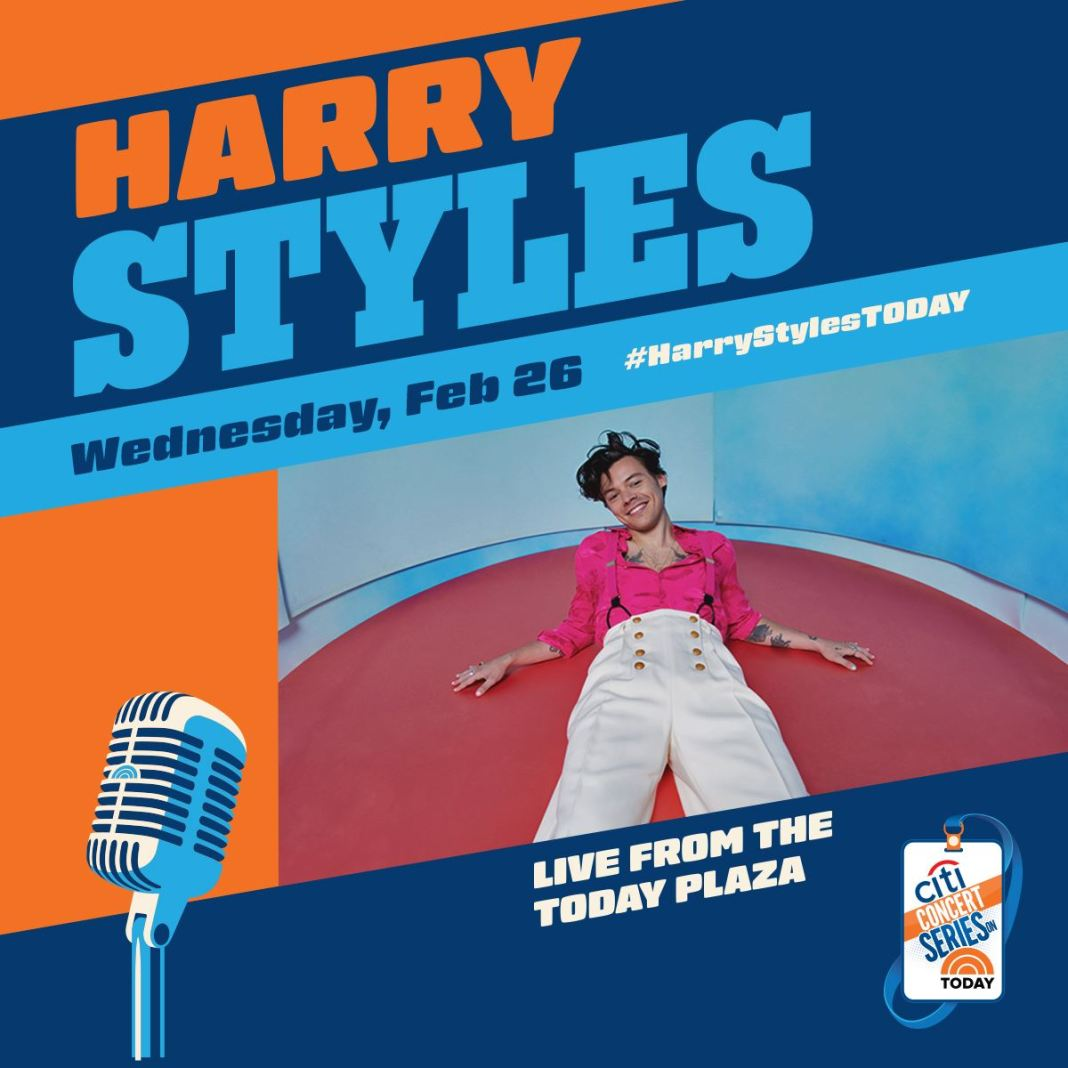 Watch Harry Styles Performs On 'The TODAY Show'   Nerds and Beyond