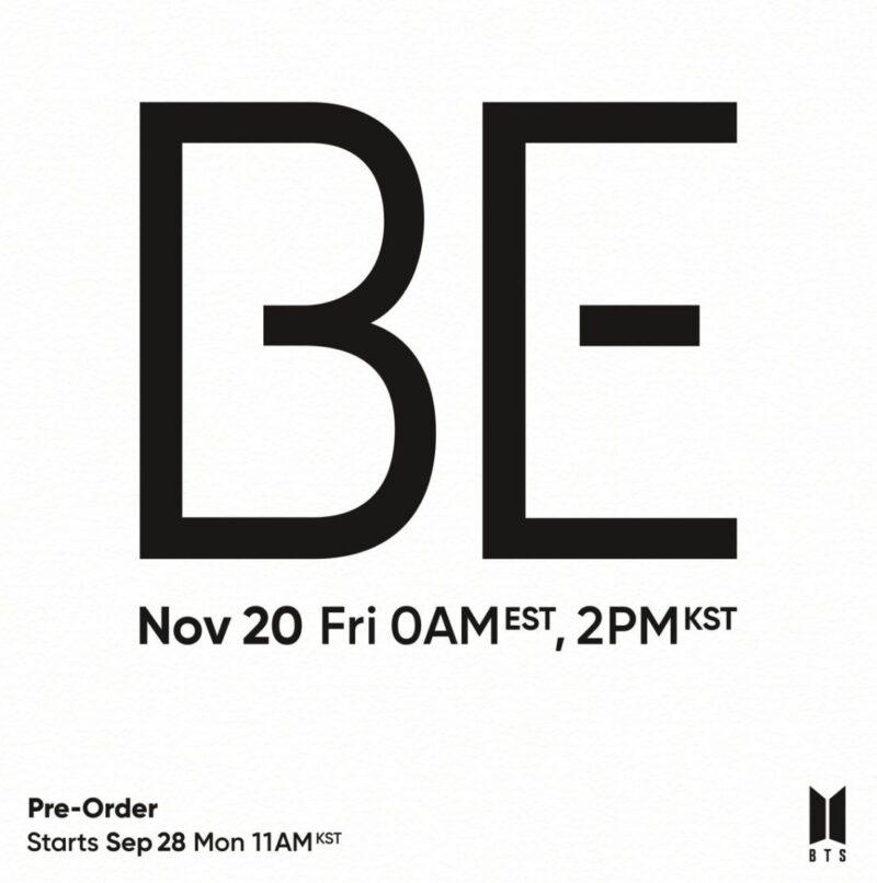 BTS new album lands in November. Pre-order starts soon