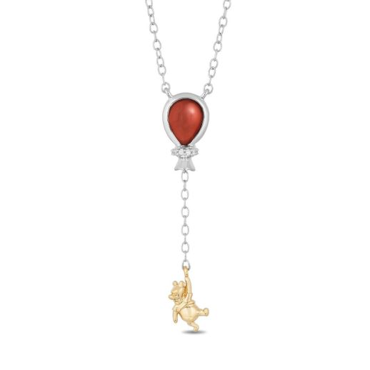 slide 6 Poo Bear and Red balloon necklace Winnie the Pooh