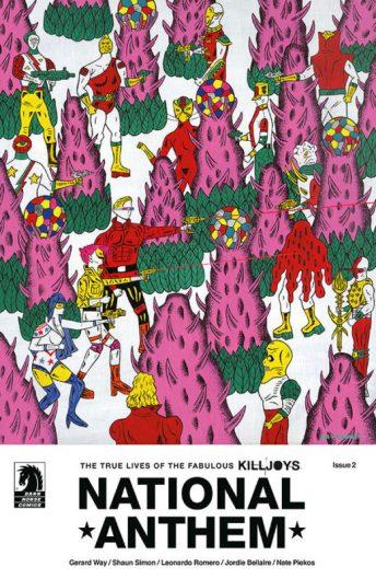 Cover artwork by Motohiro, courtesy of Dark Horse Comics.