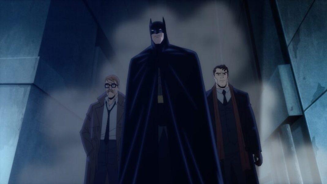 Batman: The Long Halloween, Part One-1 - Bat-Dent-Gordon