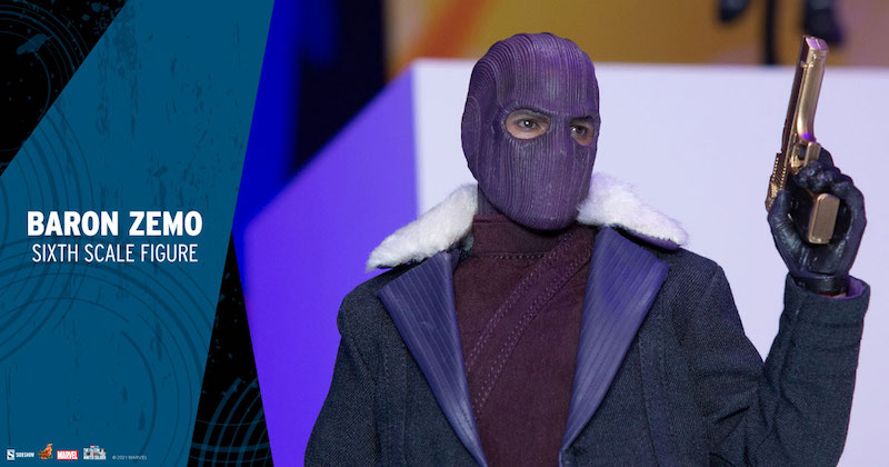 Sideshow Baron Zemo Hot Toys Figure Preview Ad
