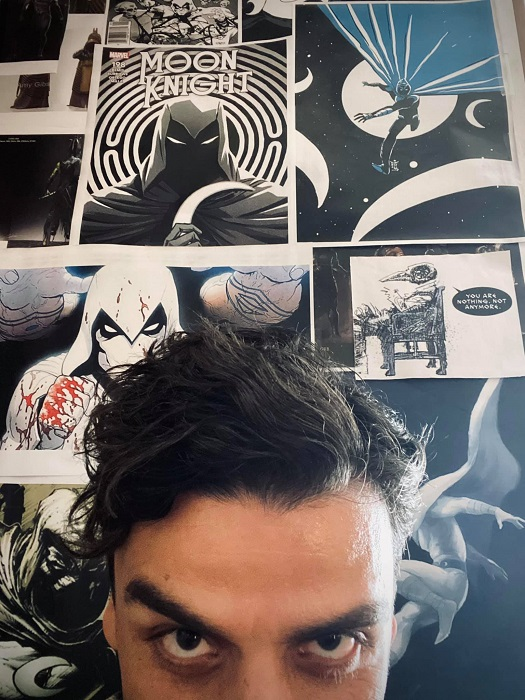 Oscar Isaac teases his role as Moon Knight
