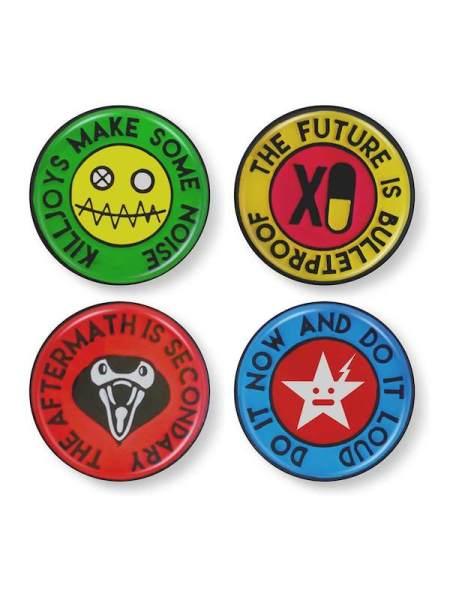 HipDot x My Chemical Romance pin set
