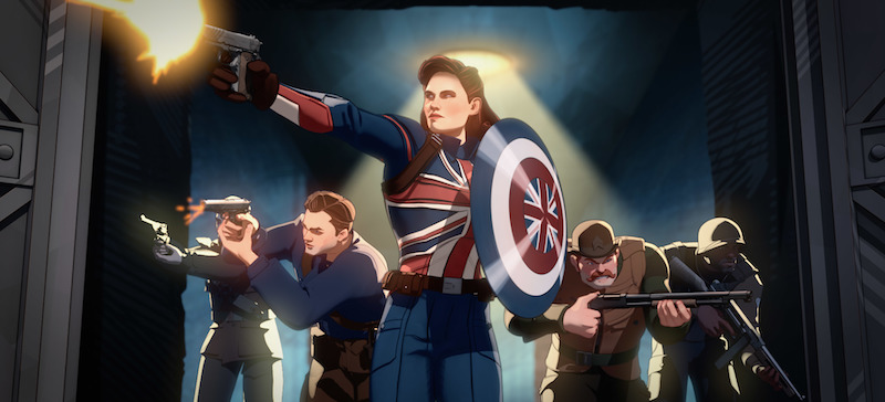 Captain Carter and the Howling Commandos in What If...?
