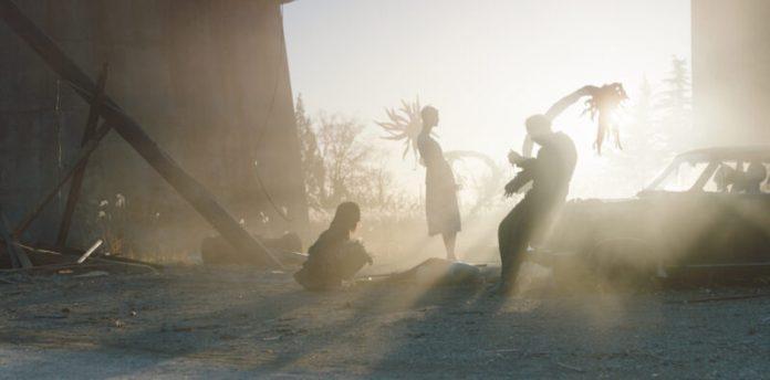 'Prisoners Of The Ghostland,' courtesy of RLJE Films.
