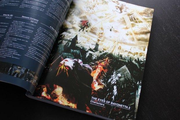 Das Bayonetta 2 Artbook zeigt viel Artwork aus der Entwicklung