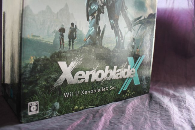 Xenoblade X Wii U Package Set Verpackung