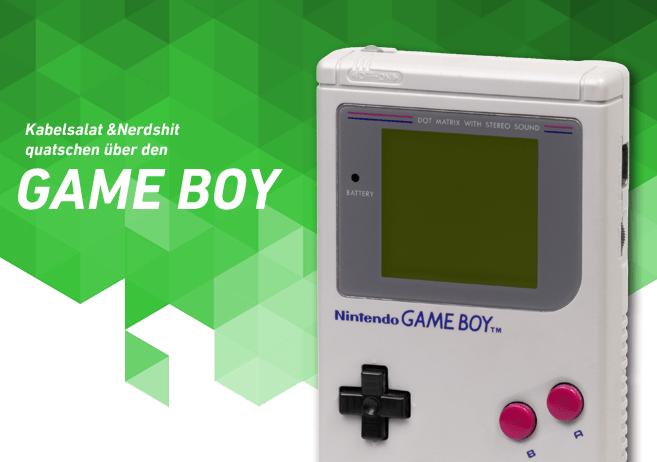 Game Boy Podcast Nerdshit Kabelsalat