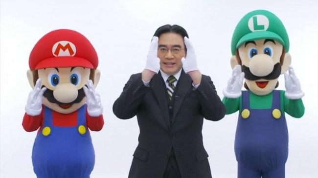"""Satoru Iwata und sein legendäres """"Directly to you"""""""