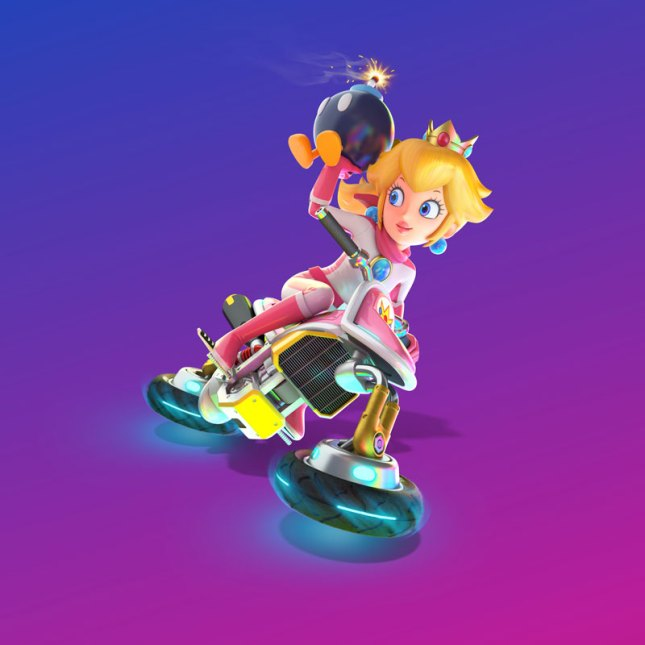 Mario Kart 8 Deluxe Peach
