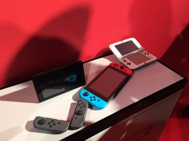 Nintendo Switch Event München Konsole Vergleich