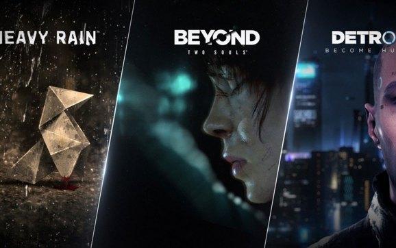 Heavy Rain, Beyond: Two Souls und Detroit: Become Human erhalten Veröffentlichungsdaten auf PC, Vorbestellung im Epic Games Store gestartet