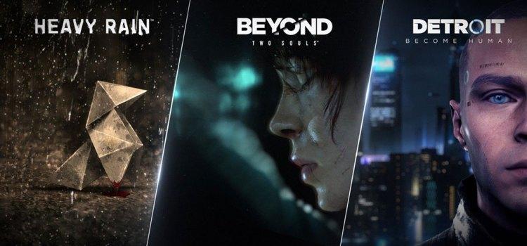 Heavy Rain, Beyond: Two Souls, Detroit: Become Human erhalten Veröffentlichungsdaten für PC, kostenlose Demos angekündigt