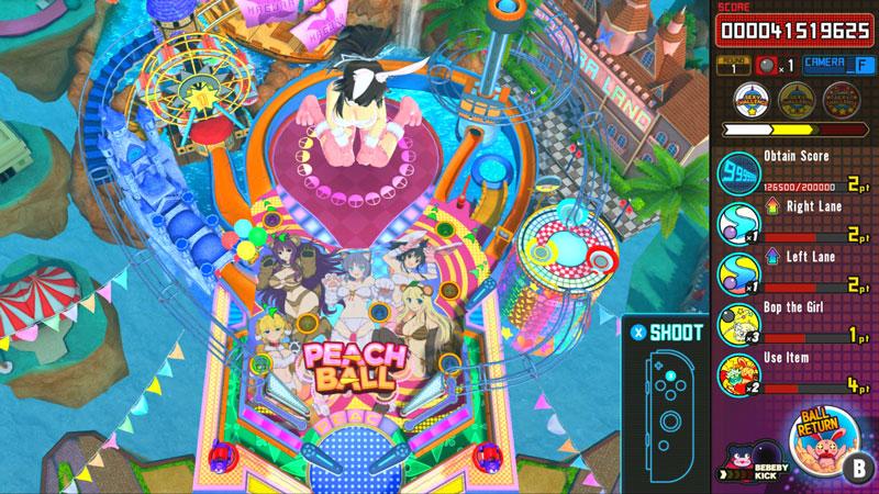 Senran Kagura Peach Ball erscheint im Sommer für Nintendo Switch