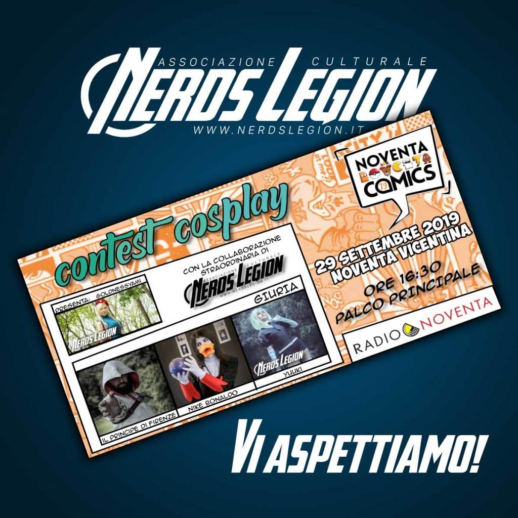 Noventa Comics: Nerds Legion c'è!